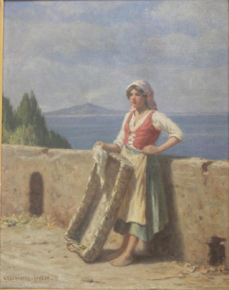 Niels Frederik Schiottz-Jensen, Italian Coast