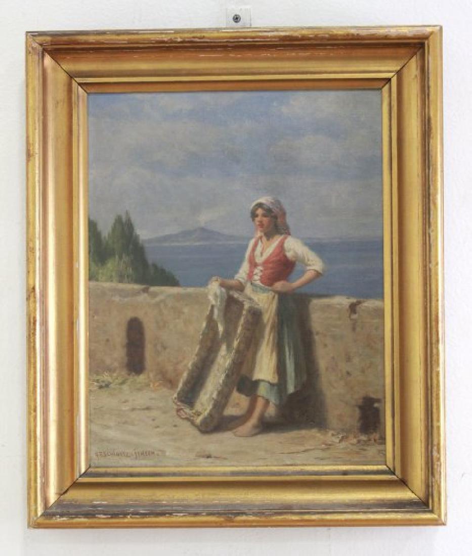 Niels Frederik Schiottz-Jensen, Italian Coast - 2