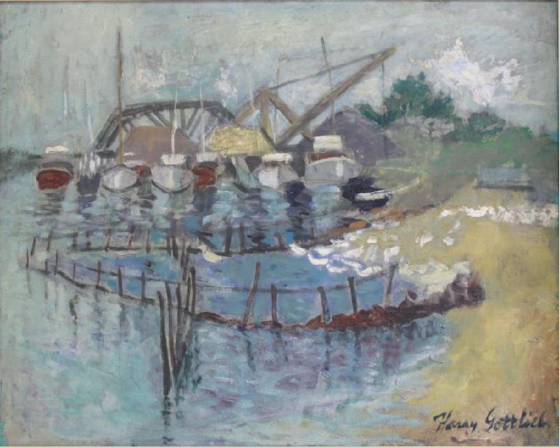 Harry Gottlieb, Harbor Scene