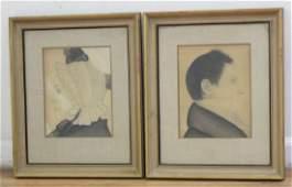 Pair Portraits of Dr. & Ms. Robert Newman