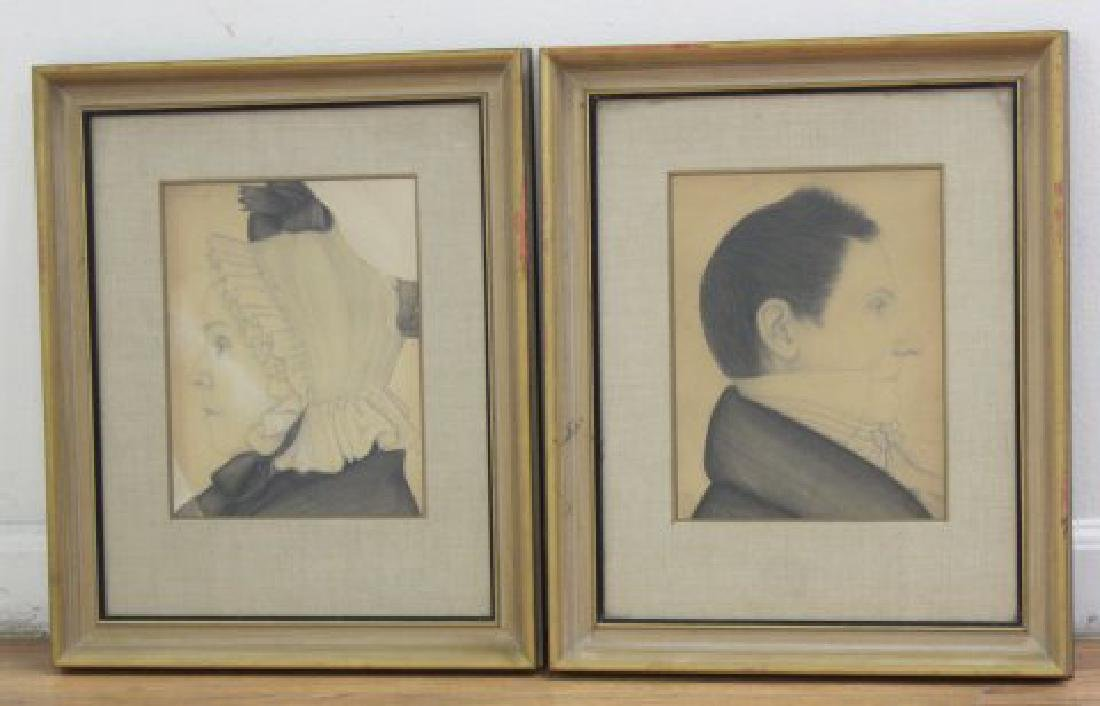 Pair Portraits of Dr. & Ms. Robert Newman
