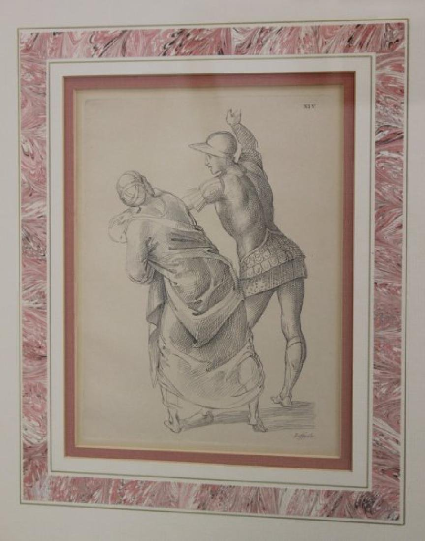 After Raphael, 6 Framed Prints - 3