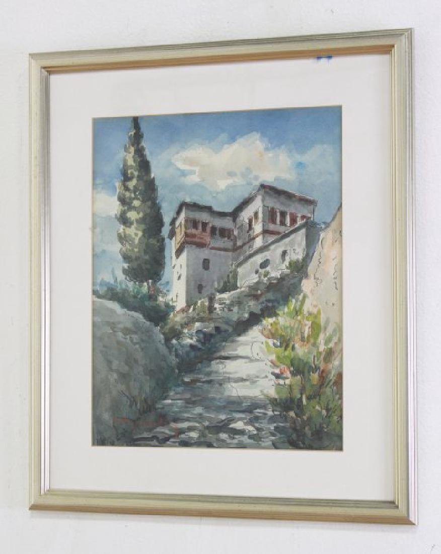 Walter Eck, Pair Mediterranean Scenes - 2