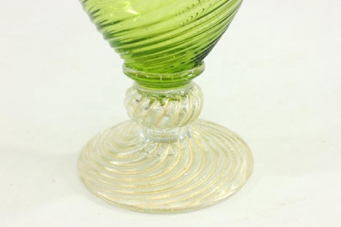 Lot 4 Mid-Century Italian Art Glass Ewers - 2