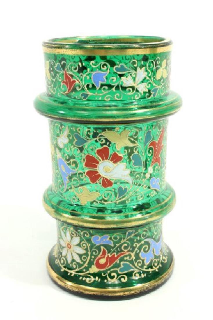 Pair Moser Vases - 2