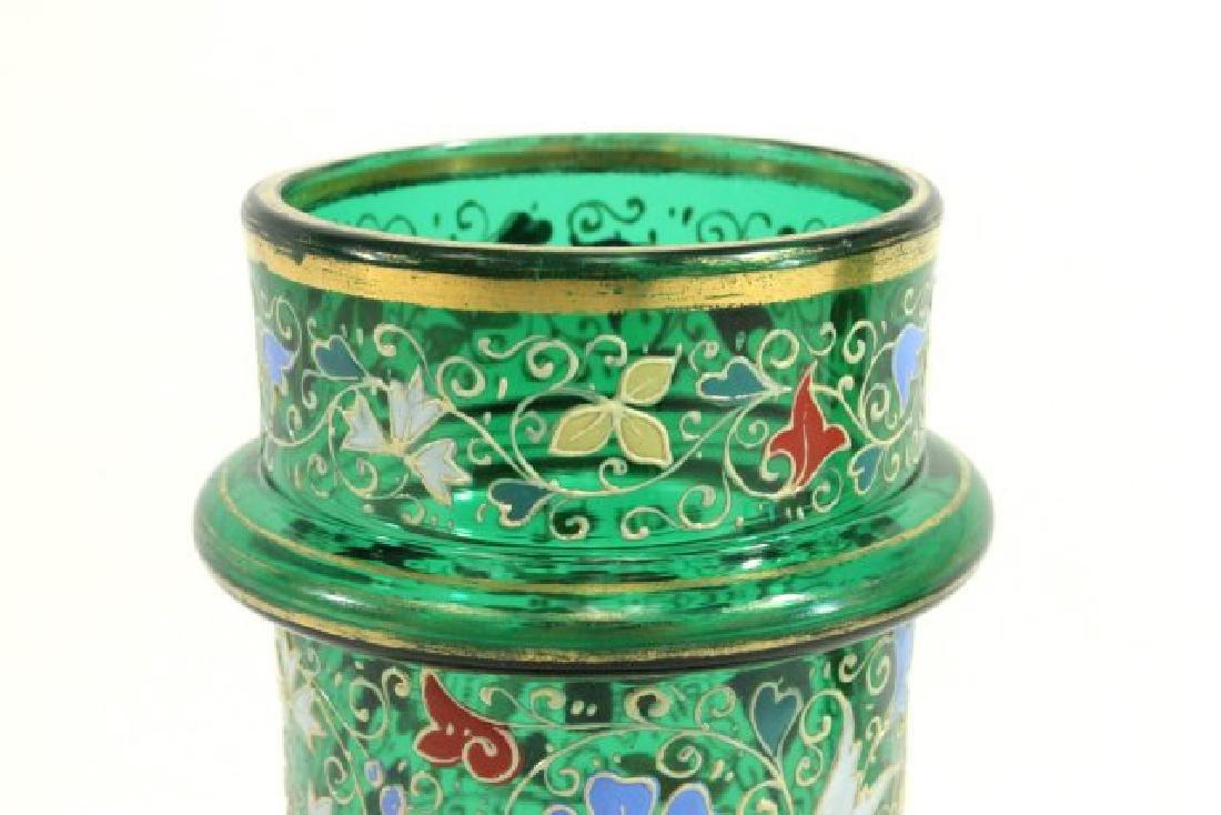 Pair Moser Vases - 3