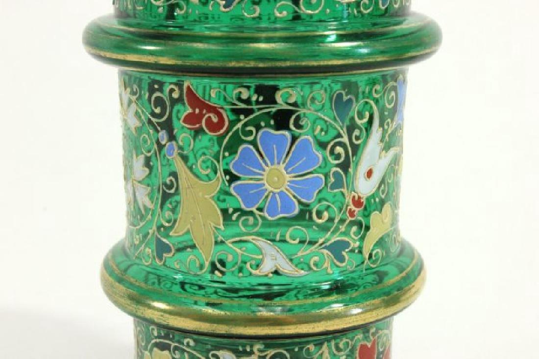 Pair Moser Vases - 4