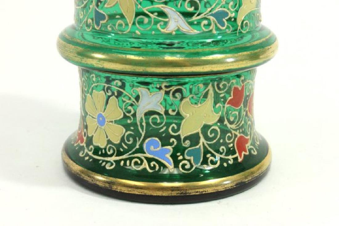 Pair Moser Vases - 5