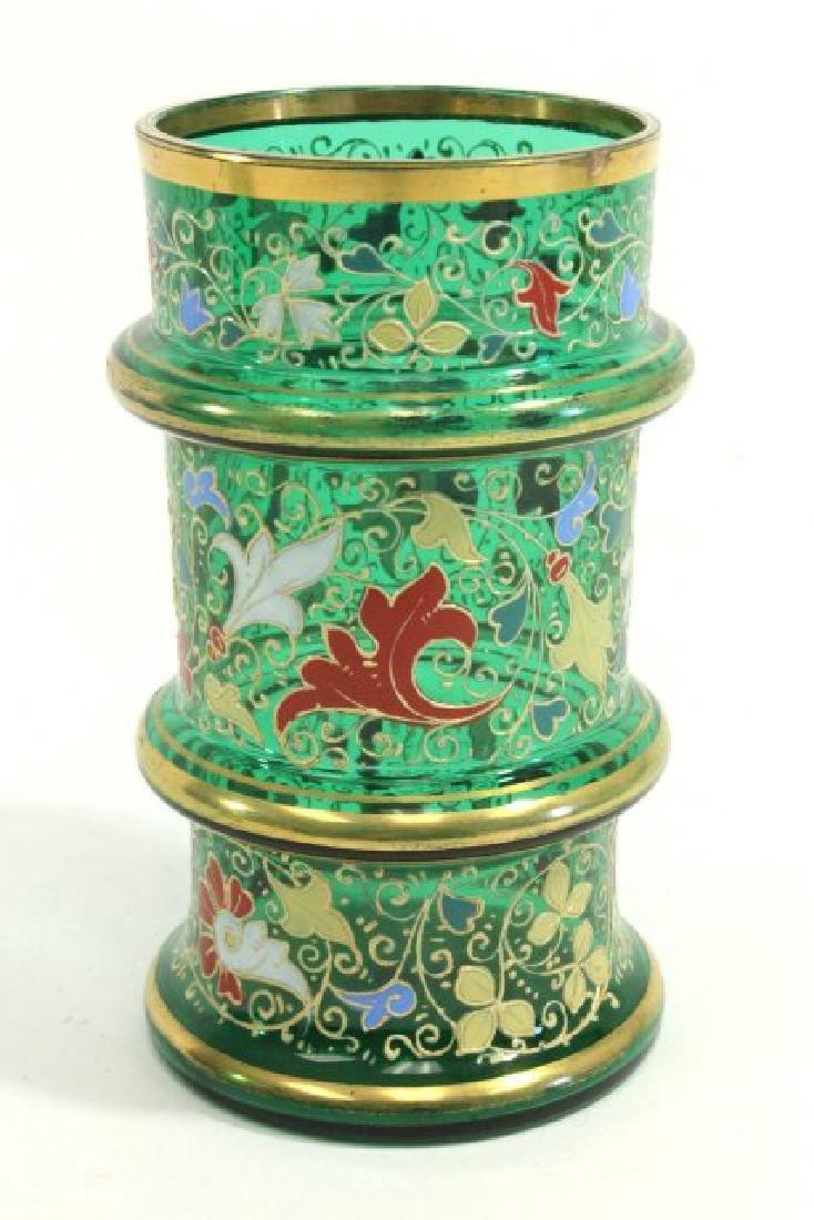 Pair Moser Vases - 6