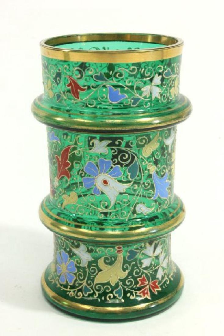 Pair Moser Vases - 7