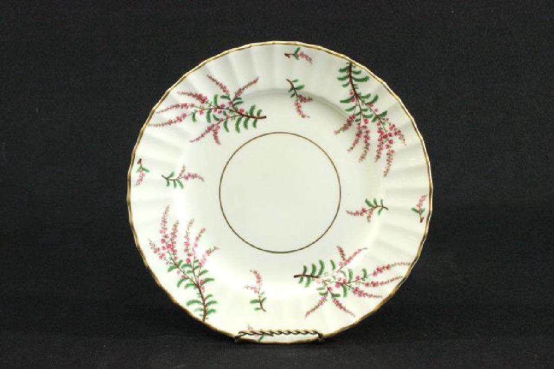 25-Piece Royal Worcester Dunrobin Pattern Tea Set - 2