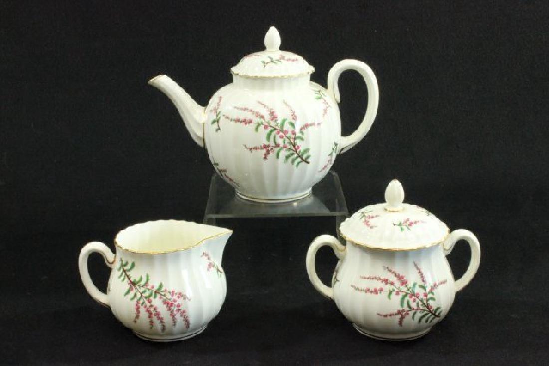 25-Piece Royal Worcester Dunrobin Pattern Tea Set - 3