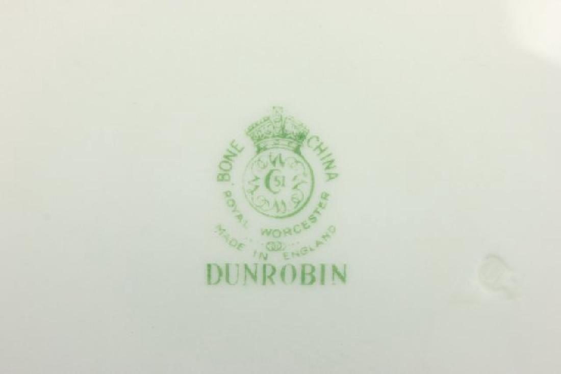 25-Piece Royal Worcester Dunrobin Pattern Tea Set - 6