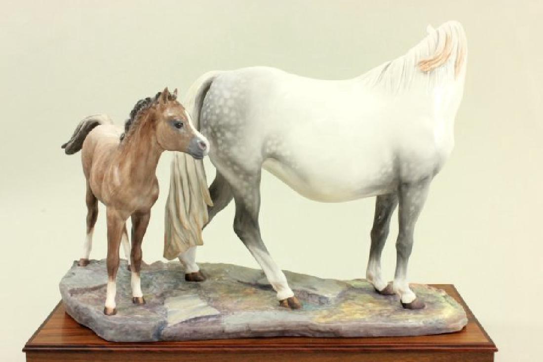 Porcelain Figure of Welsh Mare & Foal - 3