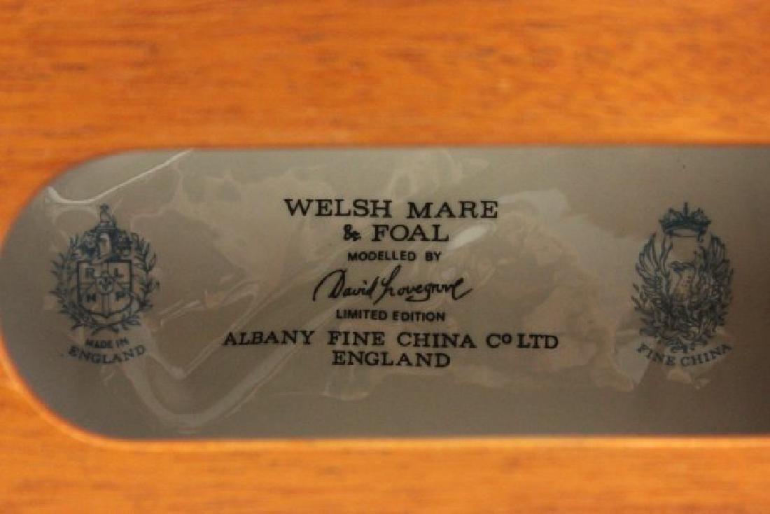 Porcelain Figure of Welsh Mare & Foal - 4