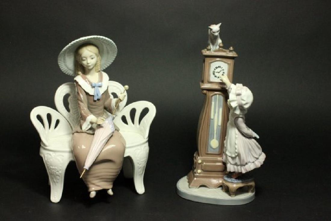 2 Lladro Figurines