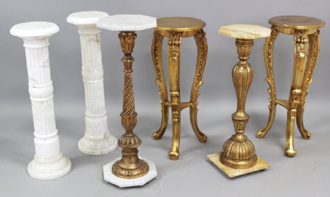 Lot 6 Pedestals