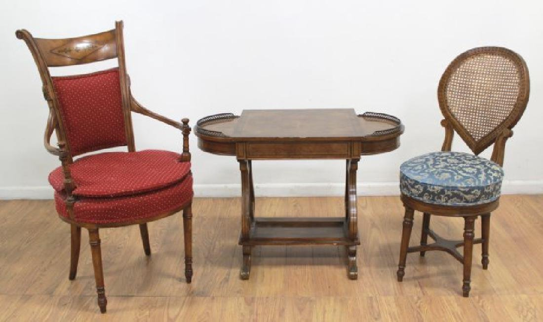 Regency Style Brass Gallery Desk