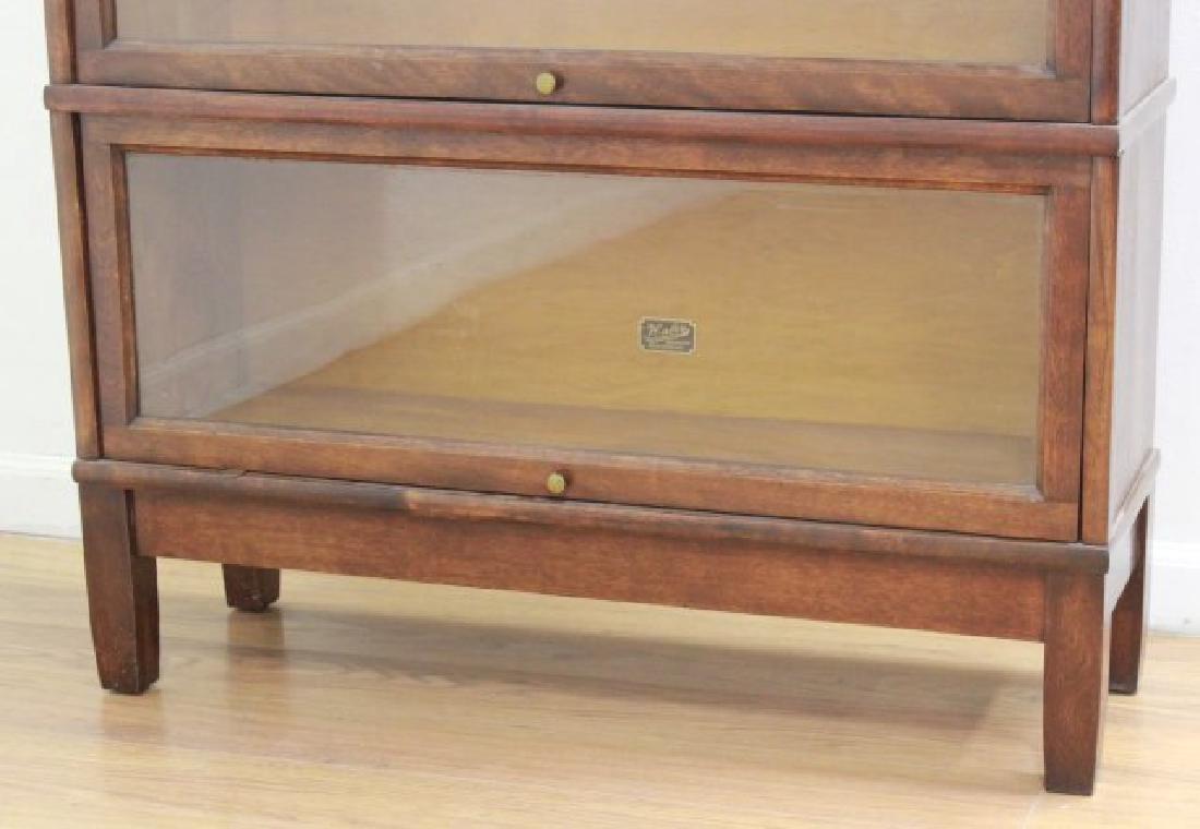 3-Stack Mahogany Bookcase - 2