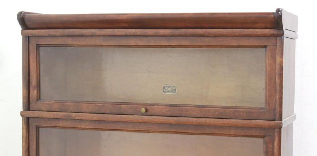 3-Stack Mahogany Bookcase - 3
