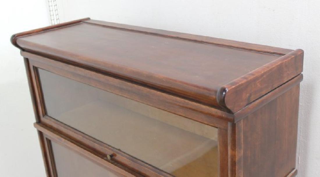 3-Stack Mahogany Bookcase - 4