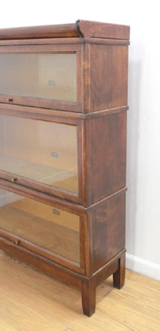 3-Stack Mahogany Bookcase - 5