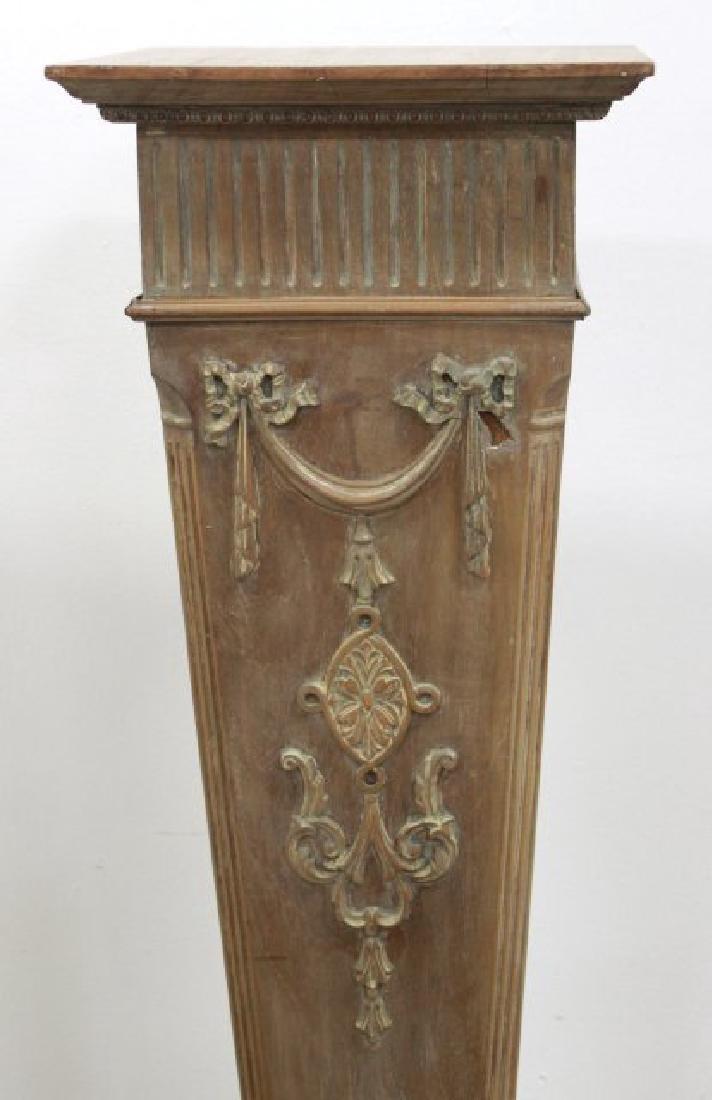Decorative Wood Pedestal - 2