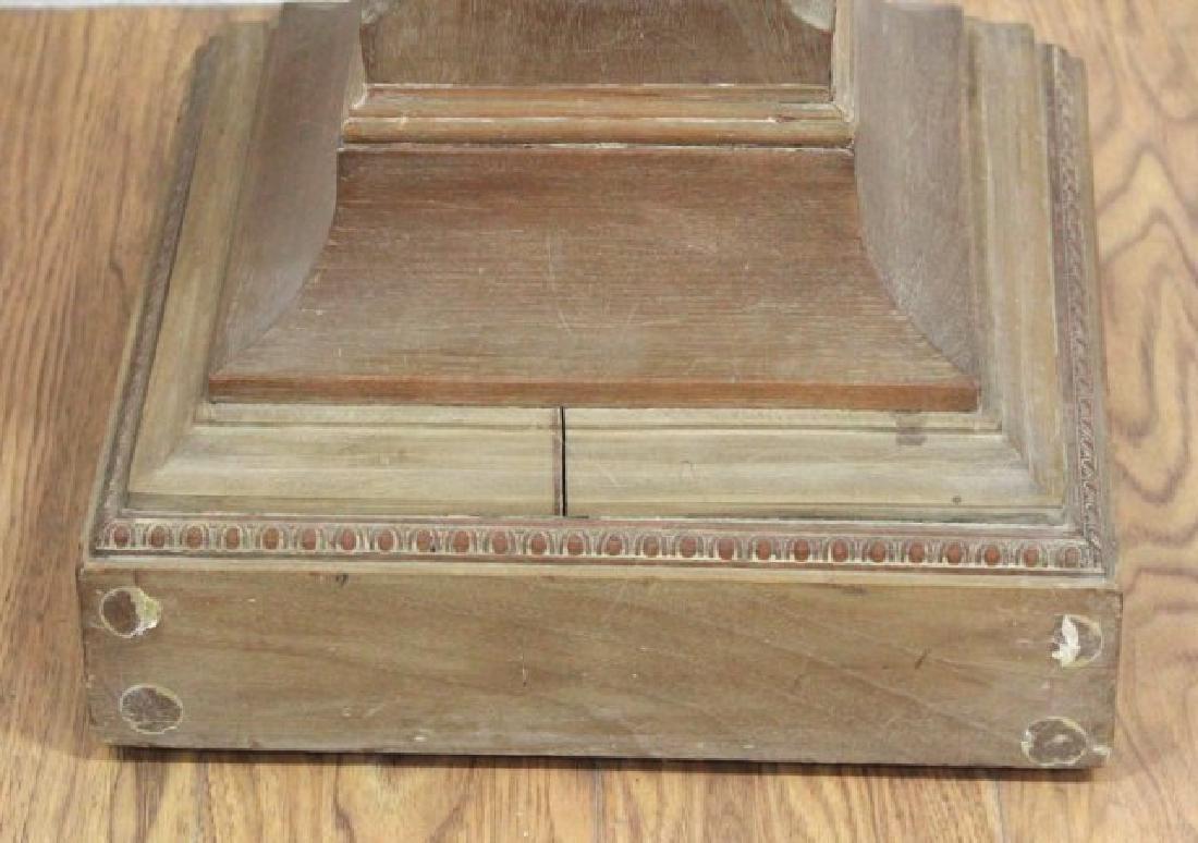 Decorative Wood Pedestal - 4