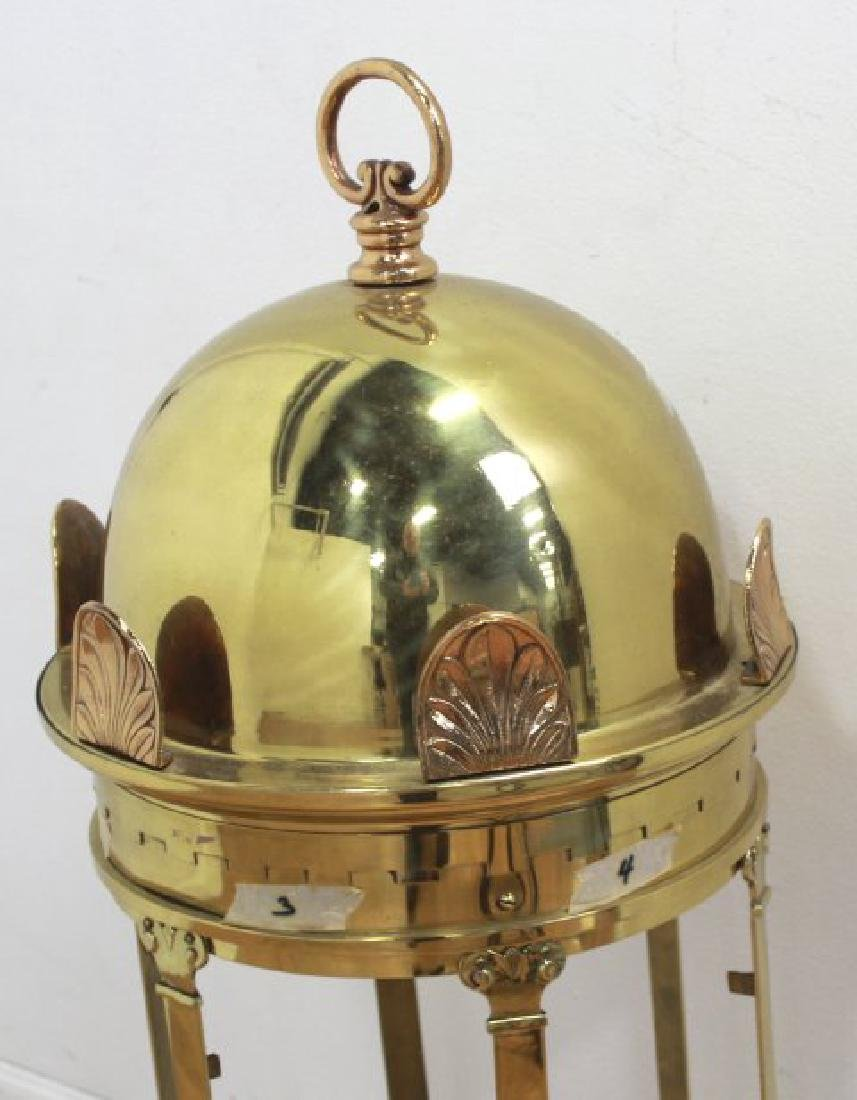 English Brass & Cast Copper Lantern - 2