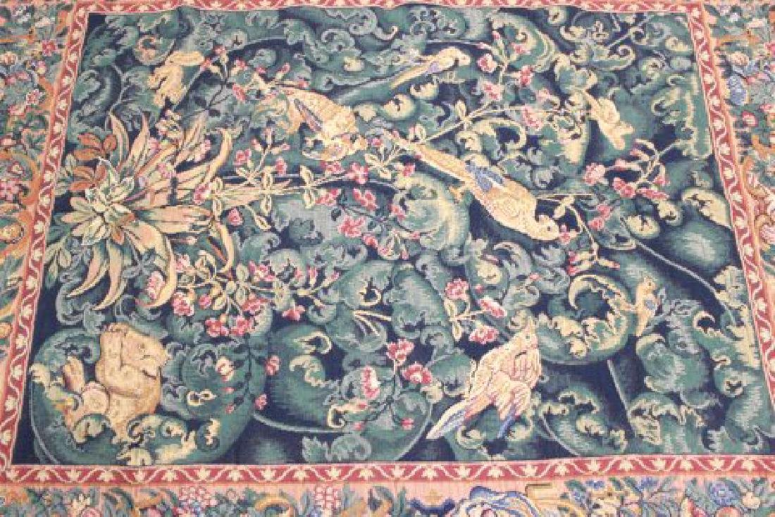"""French Tapestry, """"The Aristolochia Leaves"""" - 2"""
