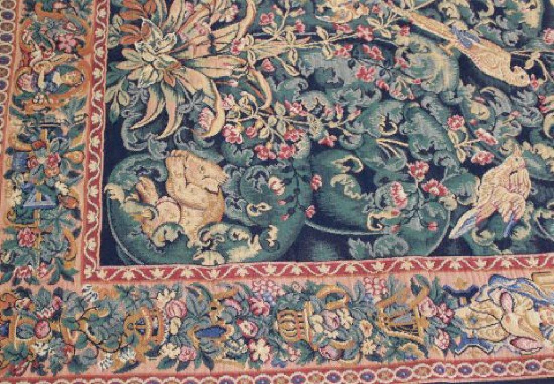"""French Tapestry, """"The Aristolochia Leaves"""" - 3"""