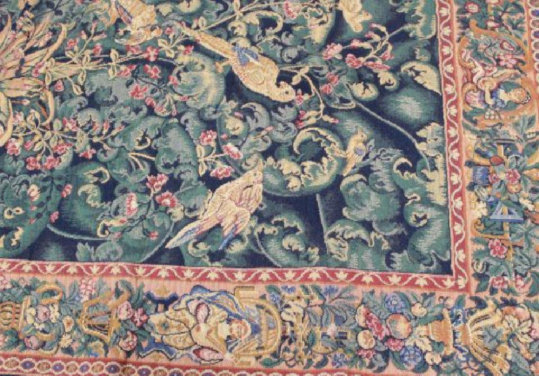 """French Tapestry, """"The Aristolochia Leaves"""" - 4"""
