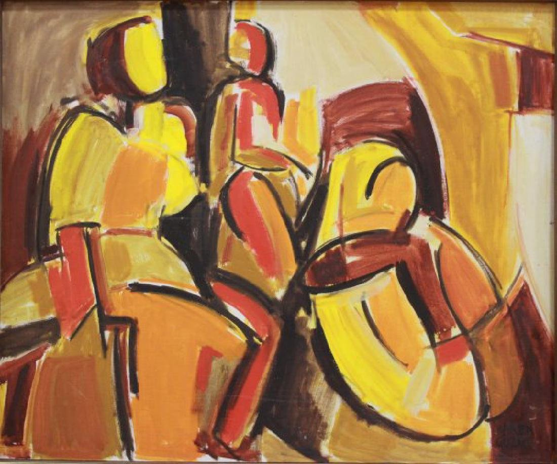 Karen Guzak, Abstract Figures