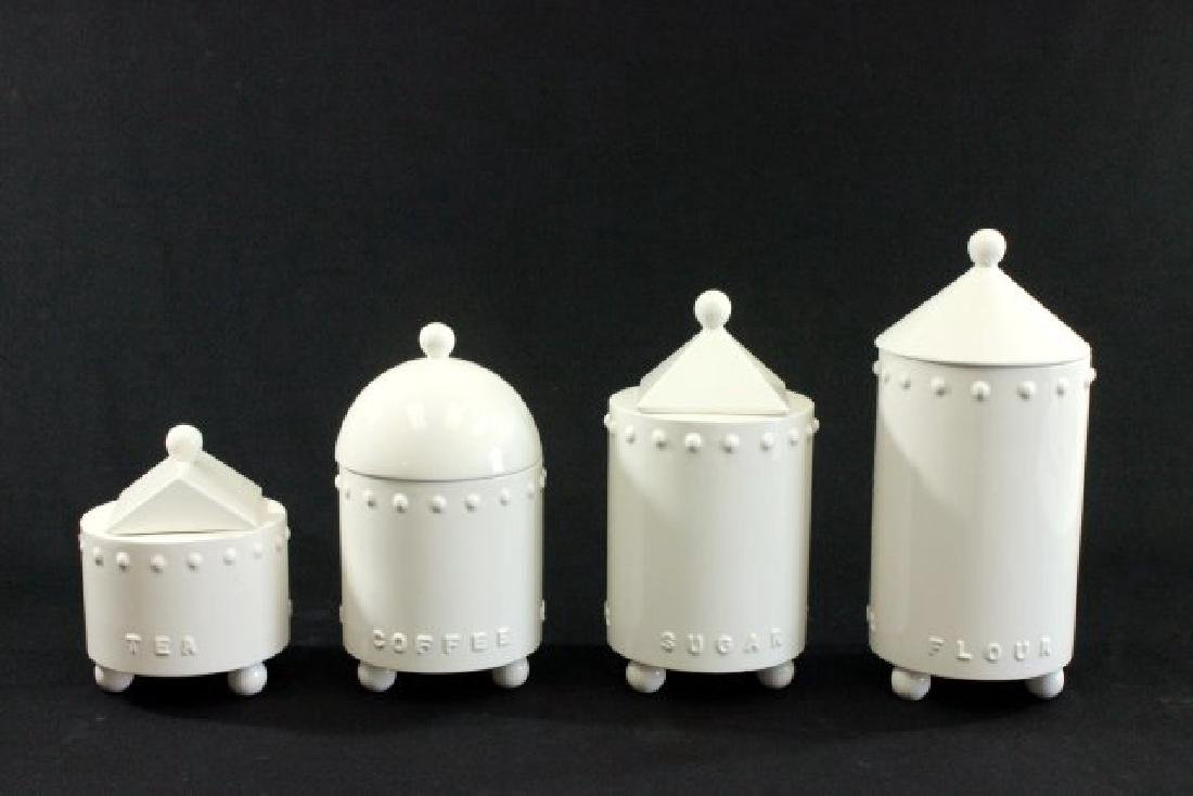 Justin Terzi Design for Swid Powell Canister Set