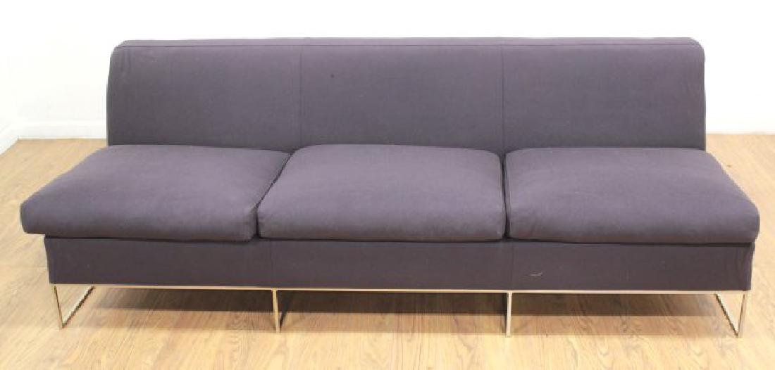 Minotti Chrome Couch
