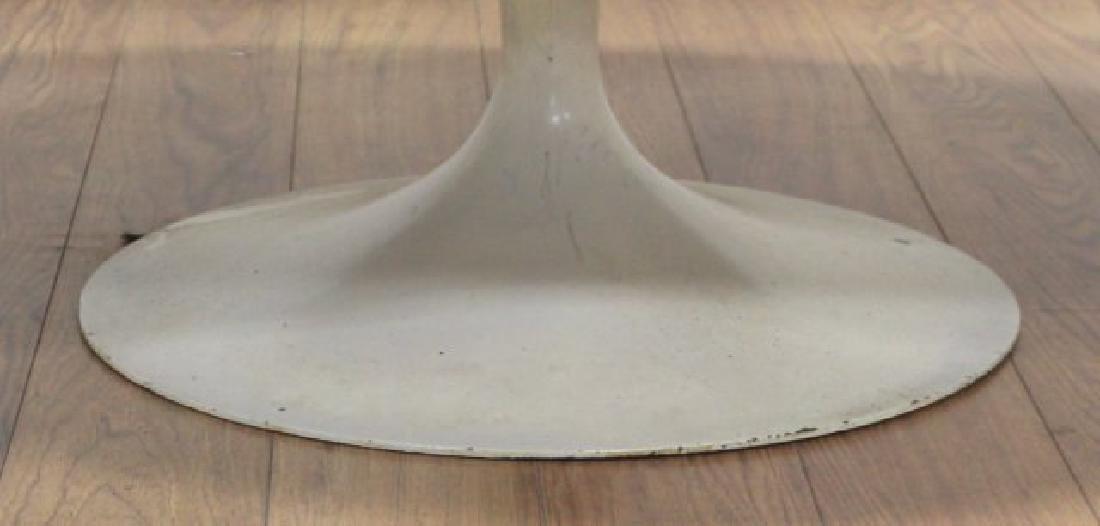 Eero Saarinen Walnut Lacquered Metal Coffee Table - 4