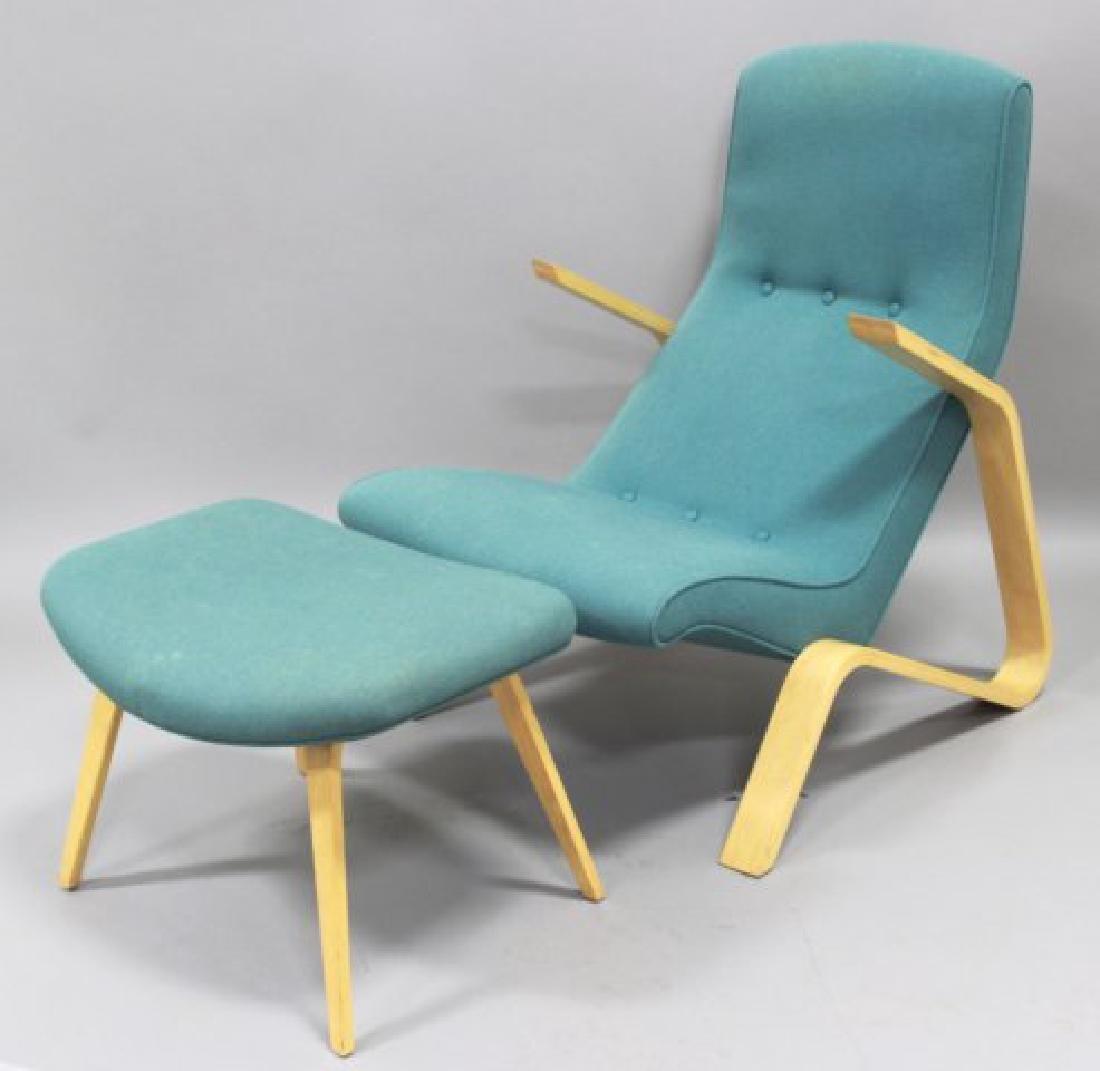 Eero Saarinen Laminated Birch Grasshopper Chair - 2