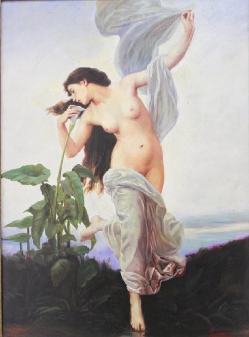 Nude in Garden