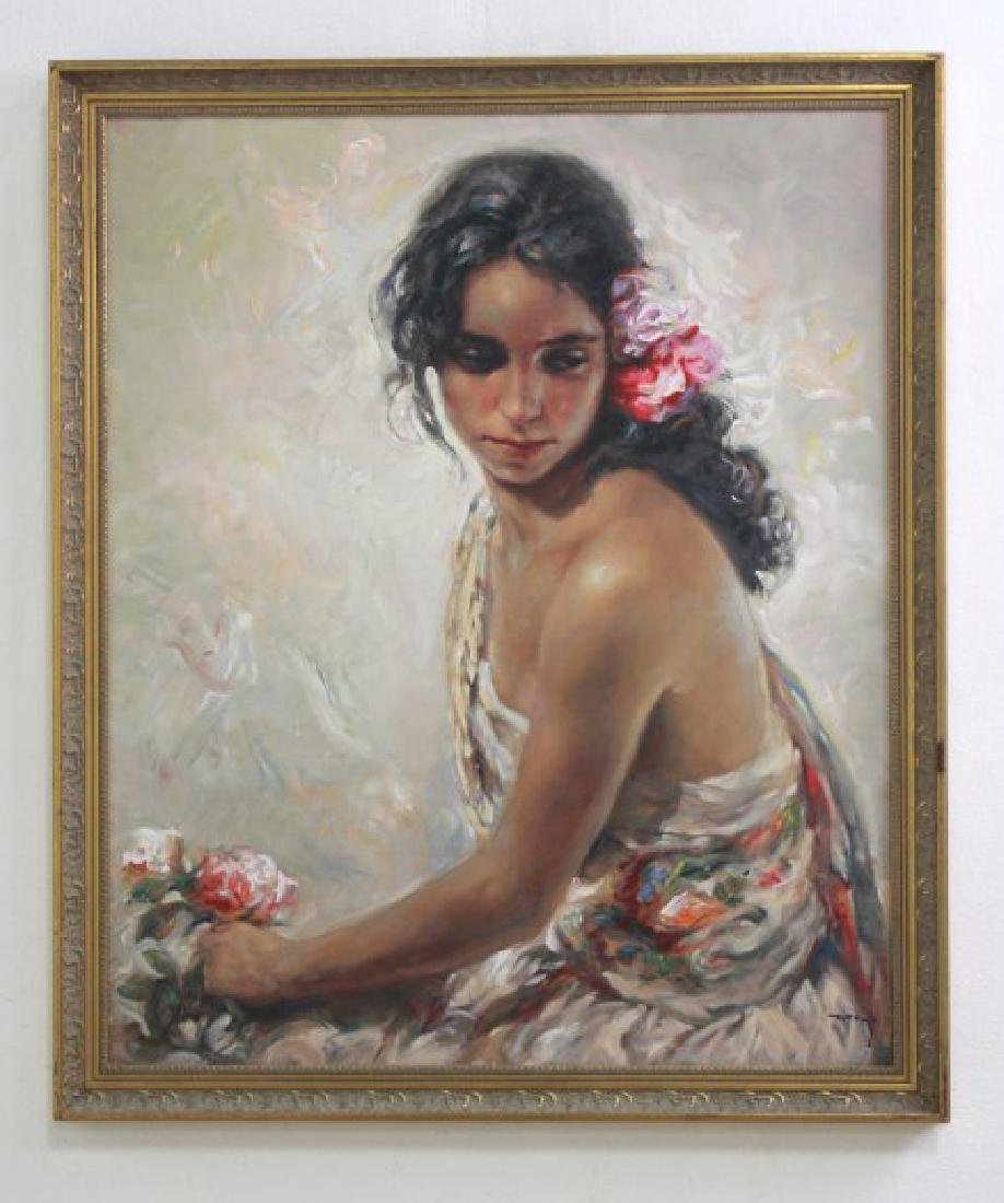 Jose Royo, Portraits of Young Ladies - 6