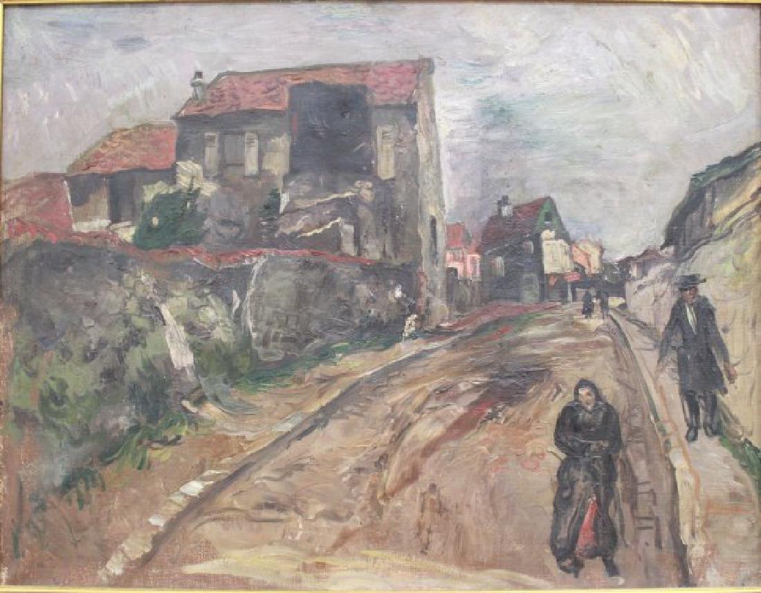 French Impressionist, Village of Arcueil-Cachan