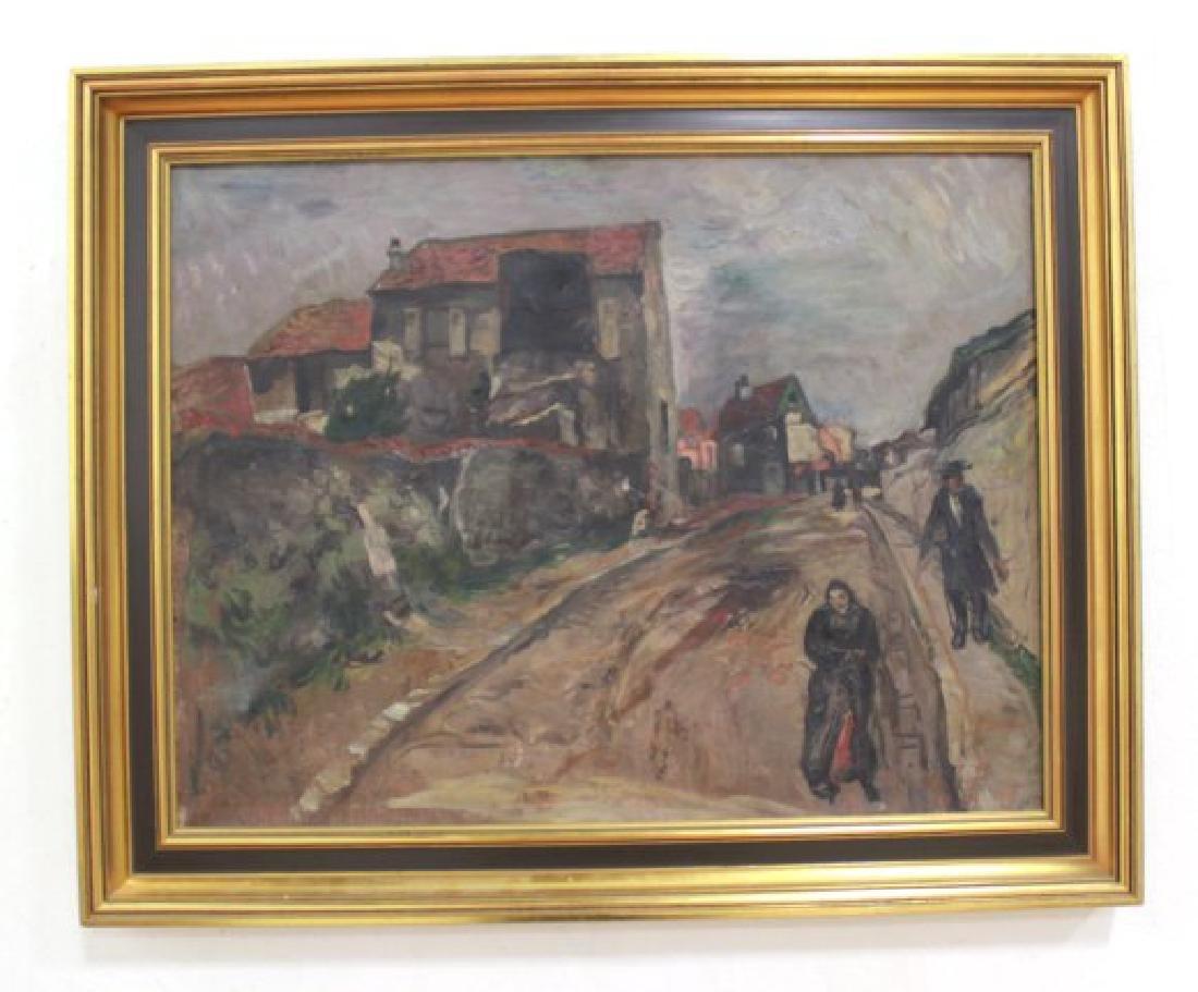 French Impressionist, Village of Arcueil-Cachan - 2