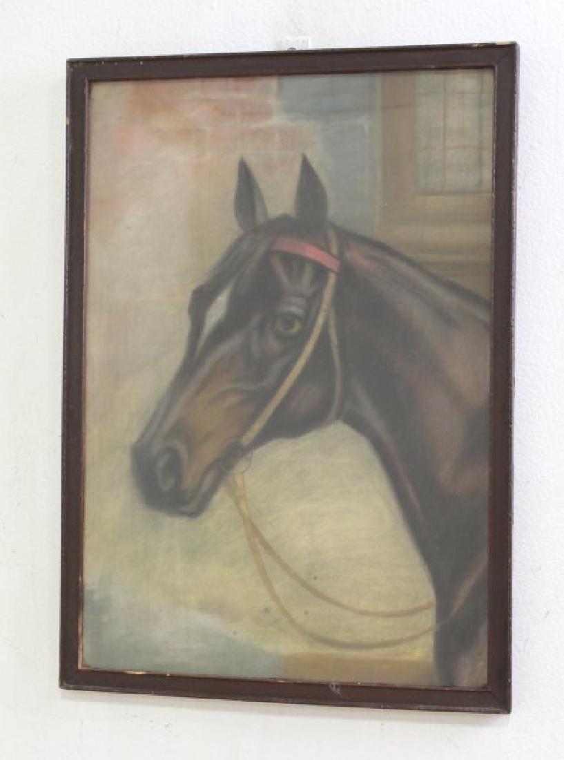 Pair Equestrian Pastels - 4