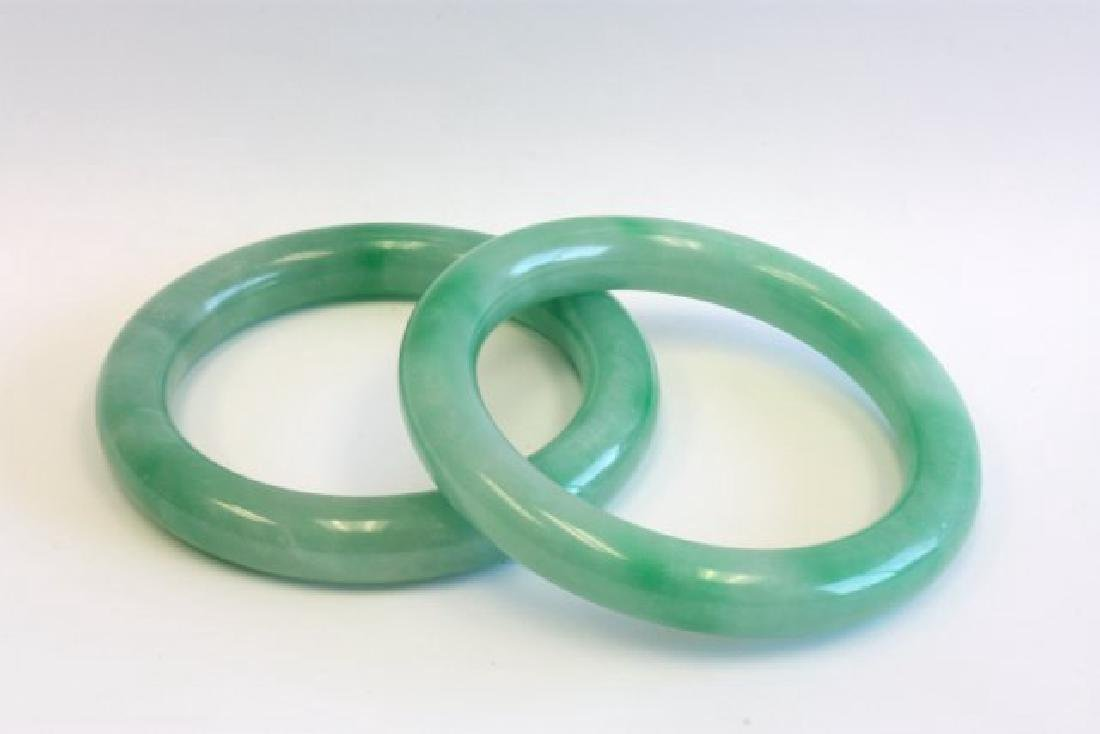 Pair of Jade Bracelets - 4