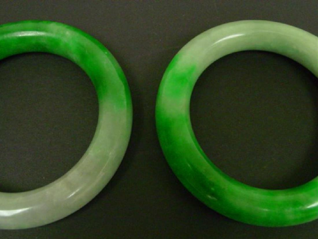 Pair of Jade Bracelets - 2