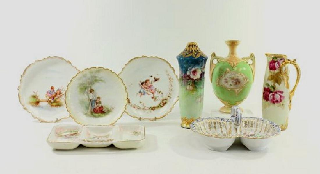 Group Lot of 8 Porcelain Pieces
