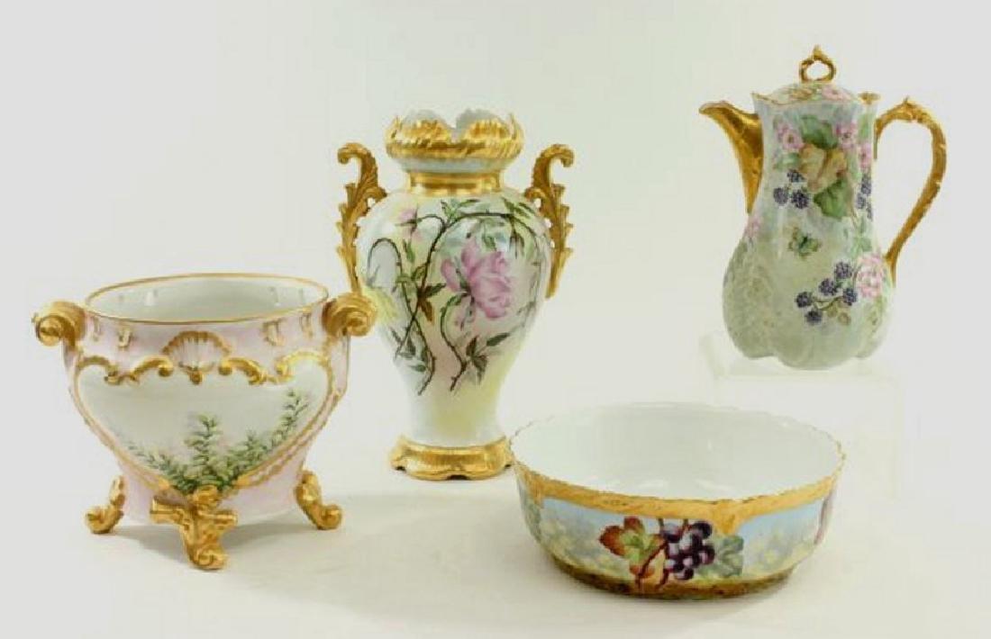 Lot of 4 Porcelain Pieces