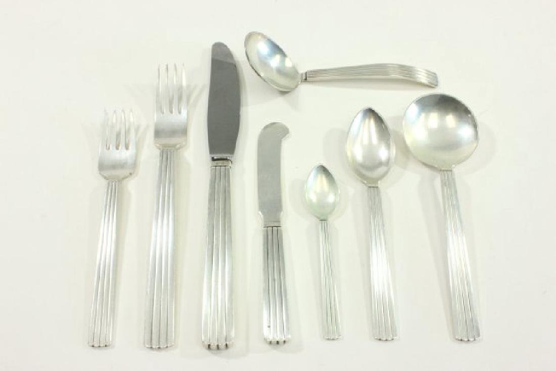 Georg Jensen Sterling Silver Flatware Set - 2