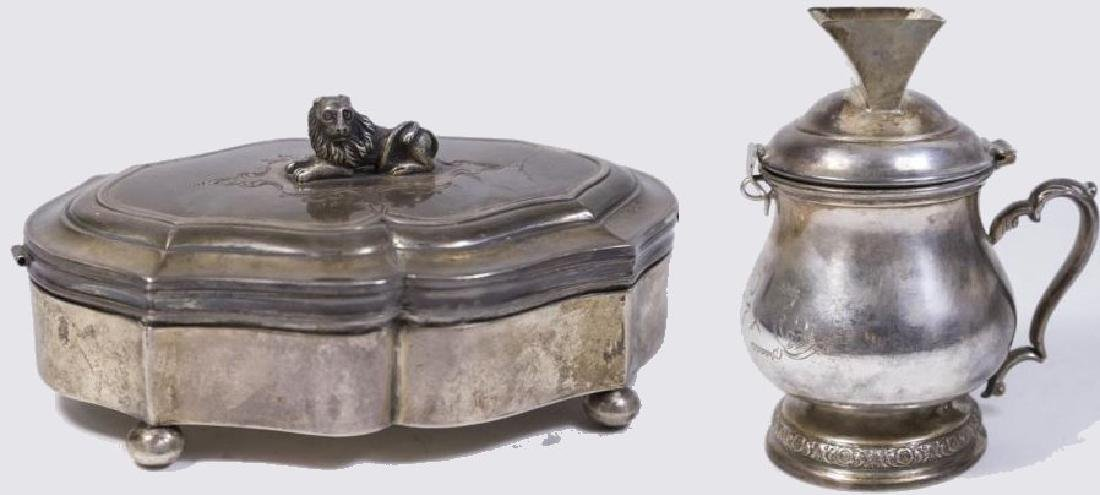 :2 Russian Silver Pieces