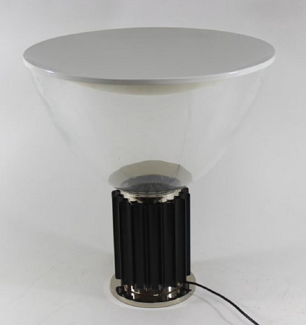 Flos Chrome & Glass Taccia Lamp