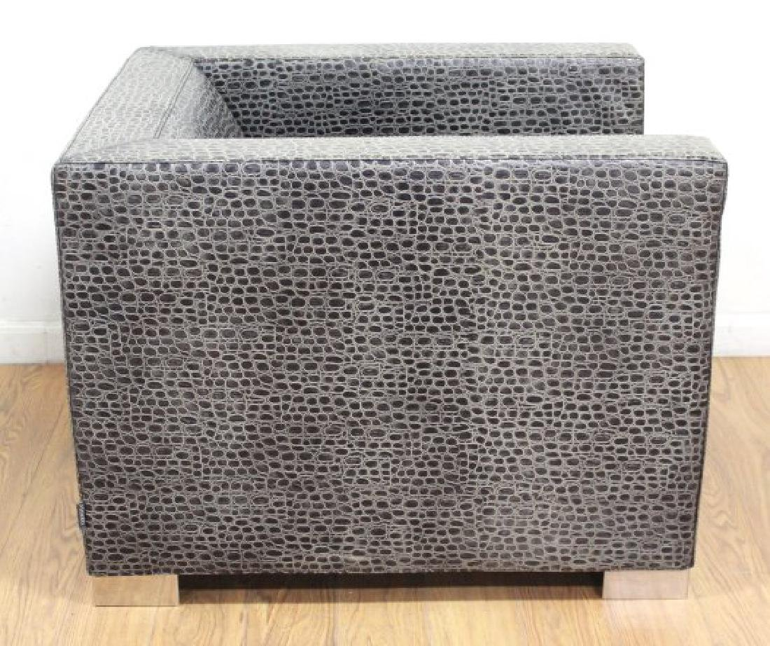 Minotti Leather Upholstered Club Chair - 2
